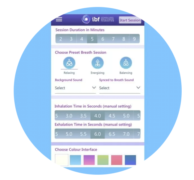 THE IBF BREATHING APP – FOR FREE ON IOS & ANDROID